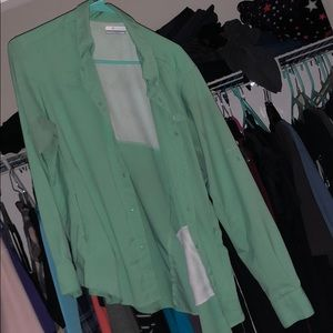 Green Columbia PFG with some staining